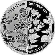 Belarus / Weißrussland - 1 Ruble Square-stemmed St. John's-wort