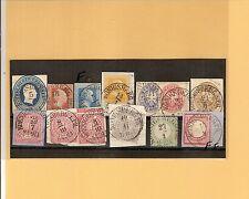 Pr Vor / KÖNIGSBERG PR 11 feinst-Kabinett-Stücke, dabei je K1 (F 1705/A) auf GAA