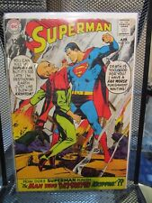 Superman #205 DC Silver Age Comics The Man Who Destroyed Krypton