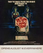THE RETURN OF THE LIVING DEAD (1985) ORIGINAL MINI 16X20 MOVIE POSTER  -  ROLLED