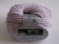 "SMC select extra soft merino grande "" rosenholz """