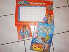 SCHLUNZ - Set : GUTER START- Heft / AUFKLEBER / STUNDENPLAN