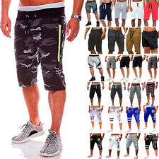 Summer Men Gym Sports Jogging Shorts Pants Trousers Casual Beach Cool UK STOCK