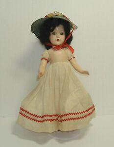 "Madame Alexander Composition 14"" Scarlet in Original Gown"