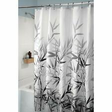 Rayan's Products Printed Shower Curtain Gray Anzu Design