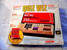 Vintage 1970's QUIZ WIZ Game By Coleco COMPLETE