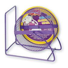 Living World Running Wheel Deluxe Metal for Mice Purple, NEW