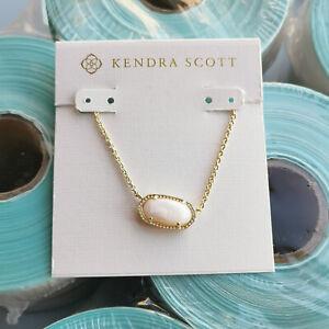 Kendra Scott Elisa Pendant Gold Necklace / Ivory Pearl