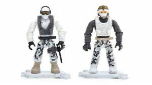 Mega Bloks Construx Call Of Duty : lot of 7 figures - New in bag