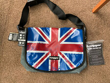 Tagger Unisex - Adults Union Jack And Denim Style Bag