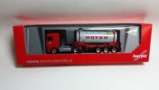 Herpa 306072 - 1/87 Daf XF Sc Euro 6 Chemietankcontainer-Sz - Hoyer - Neu