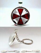 Resident Evil - Umbrella Corporation - Photo Glass Dome Keyring
