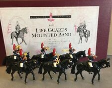 BRITAINS 5295 HORSE GUARDS MOUNTED BAND LIMITED EDITION SET 2
