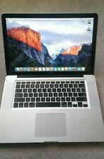 "Apple MacBook Pro ""Core i7"" 2.2GHz 15"" A1286 (MC723LL/A 2011) Win10, New Battery"