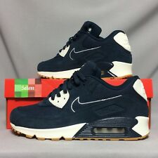 Nike AIR MAX 90 Premium UK9 700155-403 EUR44 US10 Armory Navy Blue VELA PRM 1 QS