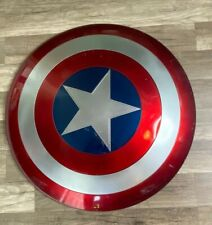 "Auth Marvel Legends Captain America 24"" Shield Cosplay Costume USA Worn NO BOX"