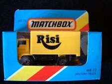 MATCHBOX MB72 - DODGE DELIVERY TRUCK - RISI
