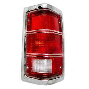 For Dodge D-150 D-350 W-250 W-350 Ramcharger Passenger Right Taillight Assy TYC