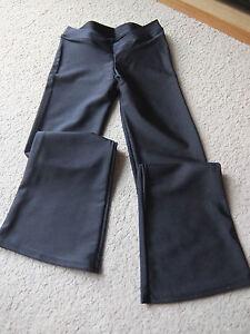 Black lycra / meryl jazz pants - assorted brands - adult sizes