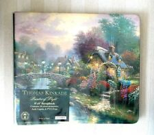 THOMAS KINKADE Scrapbook Album PAINTER Of LIGHT 8 x 8 + Protectors NEW Gift Idea