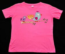 womens Hand painted Kudzoo Kids t shirts short sleeves size medium hot pink  new