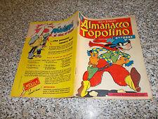 ALMANACCO TOPOLINO 1956 N.39 MONDADORI WALT DISNEY (SI TRATTA DEL N.1) MB/OTTIMO