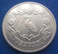 LIVERPOOL FA CUP CENTENARY  (1872  - 1972 ) ESSO COIN