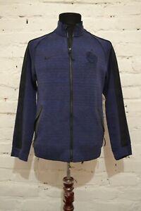 France FFF Tech Fleece Jacket (Blue) Veste Bleu N98 Full-Zip Tech Fleece S