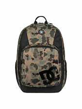 DC SHOES MENS BACKPACK.THE LOCKER CAMO LAPTOP RUCKSACK SCHOOL BAG 23L 7W 33 CNN6