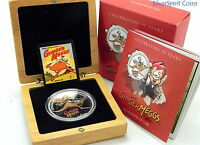2011 $1 GINGER MEGGS ANNIVERSARY Silver Proof Coin
