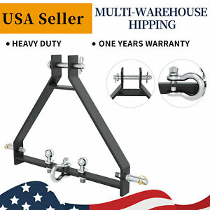 3 Point Hitch Receiver Cat 1 Tractor Attachment Fit John Deere iMatch Heavy Duty