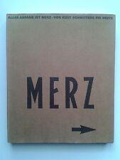 """"""" Kurt SCHWITTERS / MERZ """" Catalogue Hannover, Düsseldorf, München 2000 DADA"""
