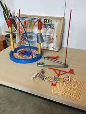 Vintage Flea Circus Game Toy Set by Mattel with Magnetic Fleas As-Is