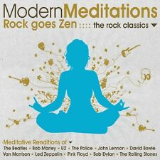 Modern Meditations - Modern Meditations to the Rock Classics [New CD] Ecopak - B