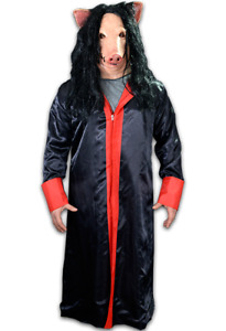 Halloween SAW JIG SAW ROBE Trick or Treat Studios Authentic Costume NEW