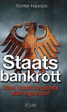 STAATSBANKROTT - Der Eurocrash mit Günter Hannich - KOPP VERLAG - BUCH OVP
