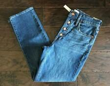 NWT $135 Madewell The Perfect Vintage Jean Barnsdale Wash Button-Front 27 AF693