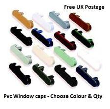 PVC Double Glazing Window Vent Drain Caps Drainage Cover uPVC - CHOOSE COLOUR.