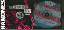 RAMONES Blitzkrieg Bop / Sheena ULTRA LIMITED EDITION USA CD single Joey Ramone