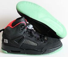 NIKE AIR JORDAN SPIZIKE iD BLACK-GREEN-HOT PINK SZ 11  [605237-997]