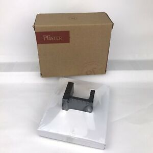 Pfister BRH-DA1B Deckard Robe Hook Matte Black Finish