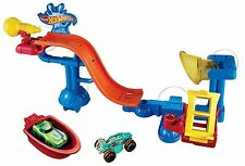 Hot Wheels Splash Rides Splashdown Station Play Set Ages 4+ New Toy Racing Car
