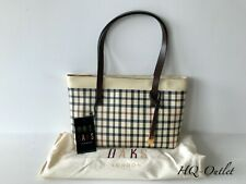 DAKS Stunning Beige Check Small Shoulder Bag, SALE!!!