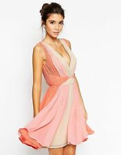 ASOS V Neck Party Skater Dresses for Women