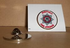 Sheffield Fire Brigade Lapel pin badge