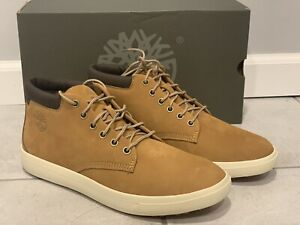 NEW Mens Timberland Davis Square Chukka Casual Shoes TB0 A1OI3 231 Wheat size 9