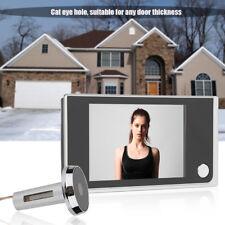 "Digital LCD Türspion Spion Türklingel 3,5 "" Display Sichtwinkel 120 Grad"