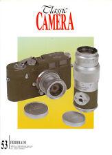 Classic Camera  N.53 Febbraio 2005 rivista in italiano collezionismo fotografico