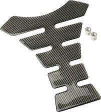 Gear Gremlin Motorcycle Carbon Look Tank Pad and Valve Dust Caps