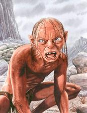 Gollum Lord Of The Rings Art Print